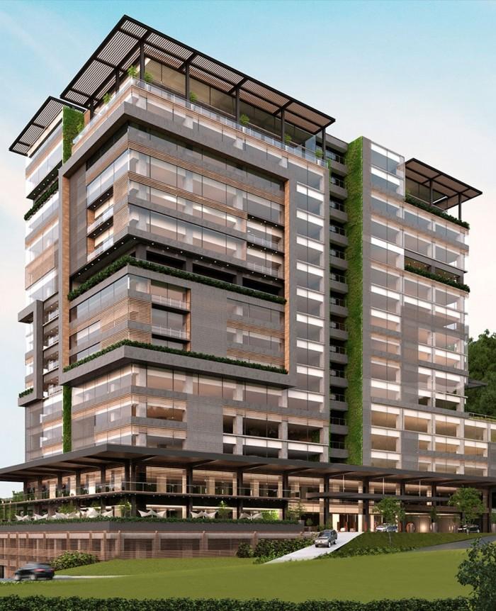 Modernas oficinas en un área lujosa en zona 15