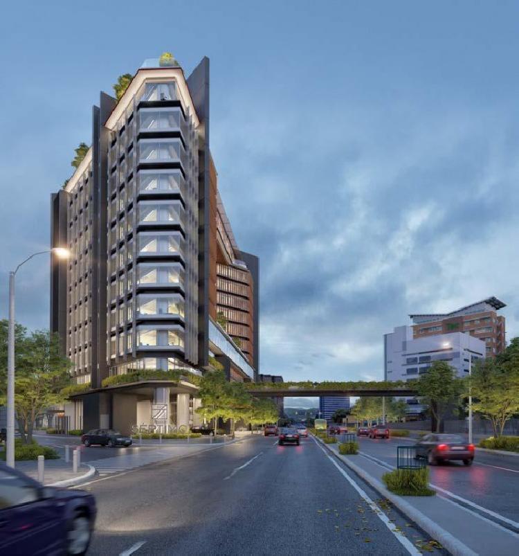 Apartamento en Venta con Terraza en Zona 4 en Planos