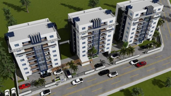 Cómodos y Modernos Apartamentos en Venta en Santiago