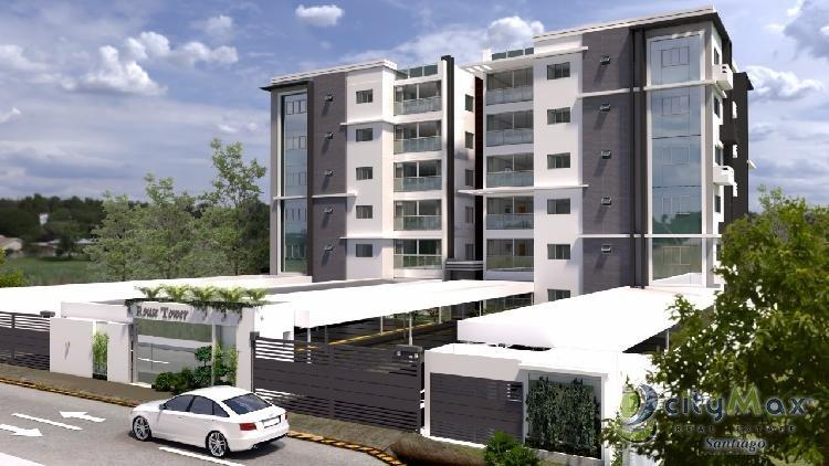 Pent-House en Plano Urbanización Thomén Santiago