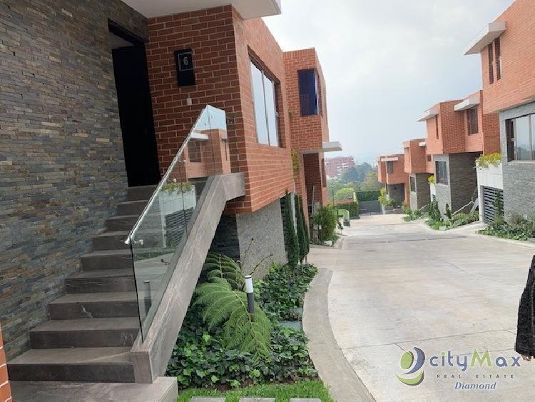 Casa nueva en venta zona 15 Viste Hermosa l