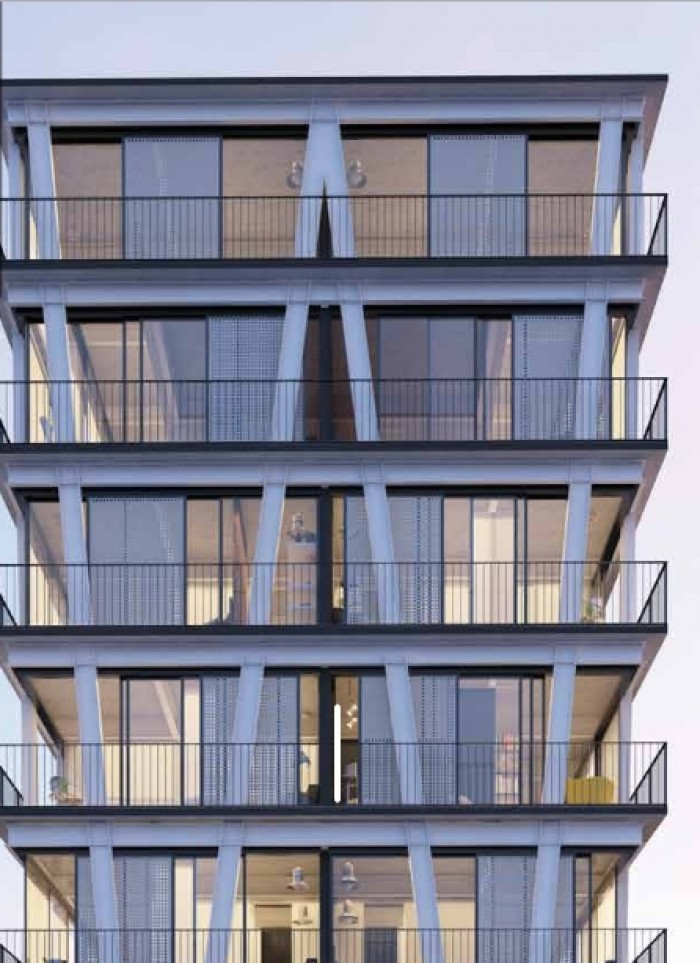 Venta Apartamento Moderno NUEVO en zona 15 V.H. 3
