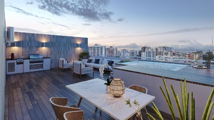 Venta de apartamento moderno con vista al Mirador Sur
