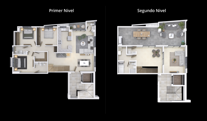 Aparatamento en venta 2 habitaciones los Restauradores