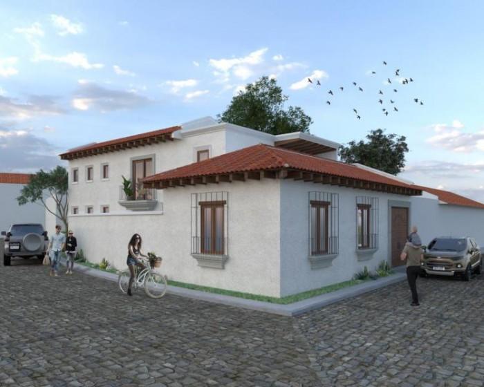 CityMax Antigua vende casa en construcción en Antigua G