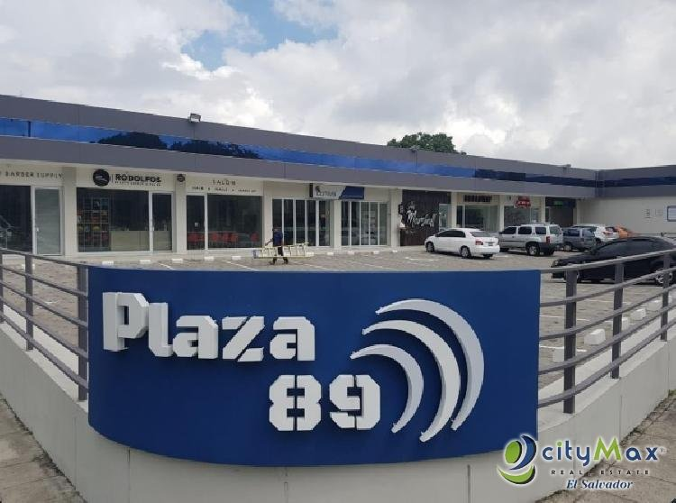 Alquilo local de 55 m2 Plaza Comercial Colonia Escalón