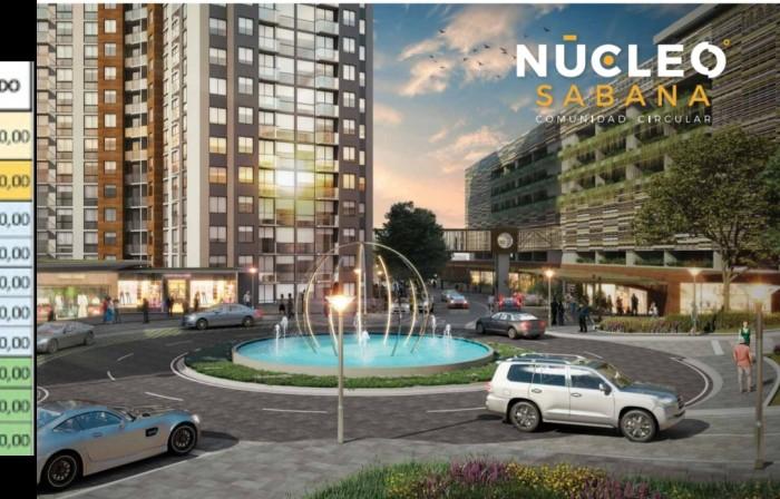 Se vende exclusivo apartamento Condominio Núcleo Sabana