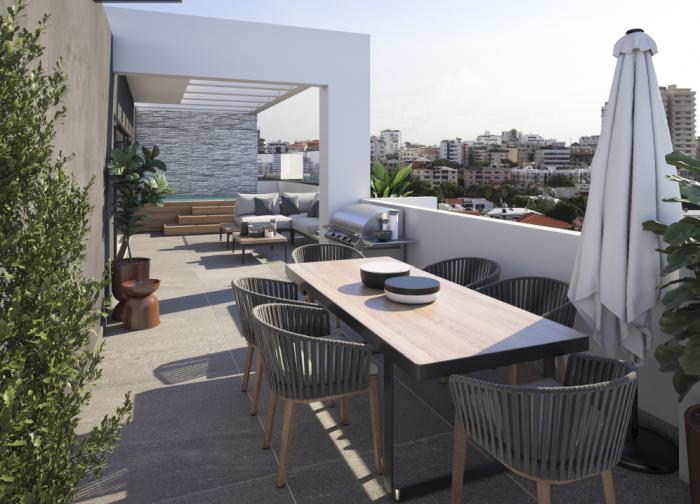 Vendo apartamento en construcción en los Restauradores
