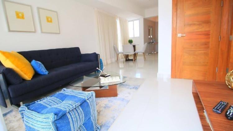 Apartamento amueblado en alquiler y venta, Naco