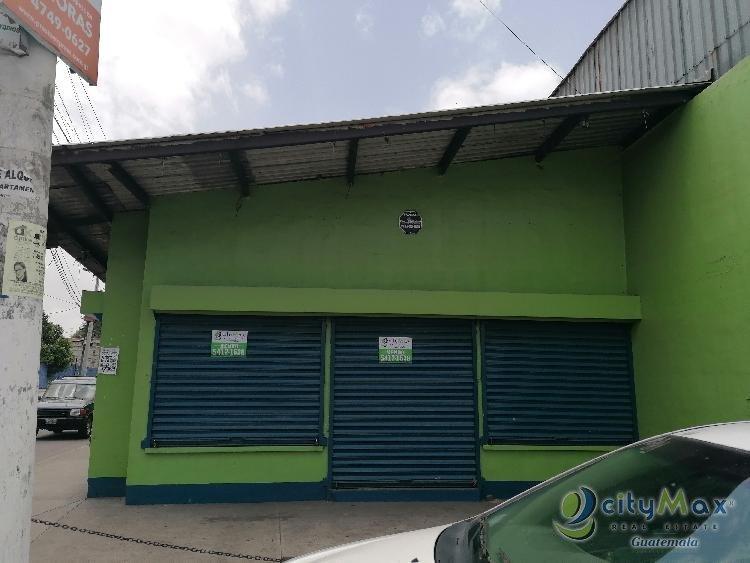 Venta o Renta Local en zona 1 Villa Nueva