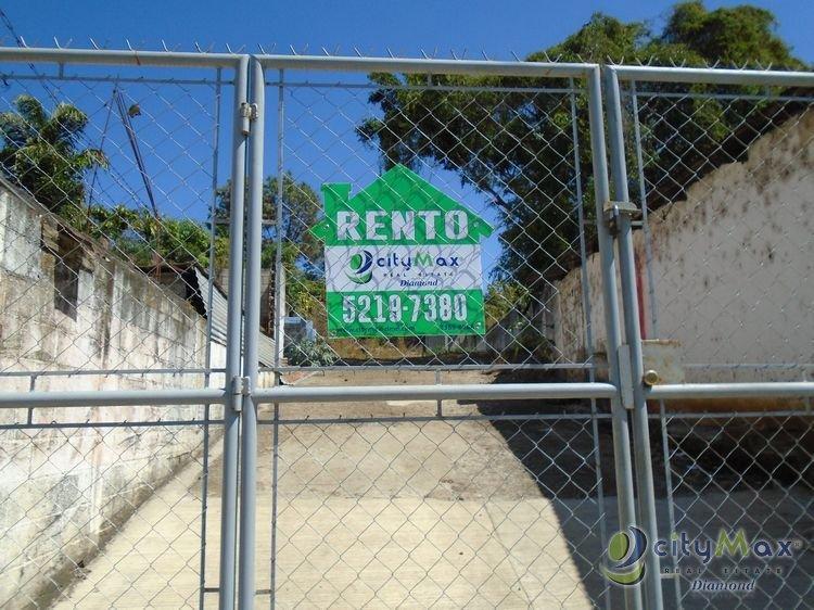 Renta y Venta de Terreno en Santa Rosa Barberena