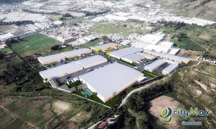 Terrenos Industriales para la construccion de Bodegas