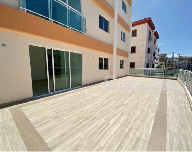 Apartamento Segunda con terraza en venta en el Millón