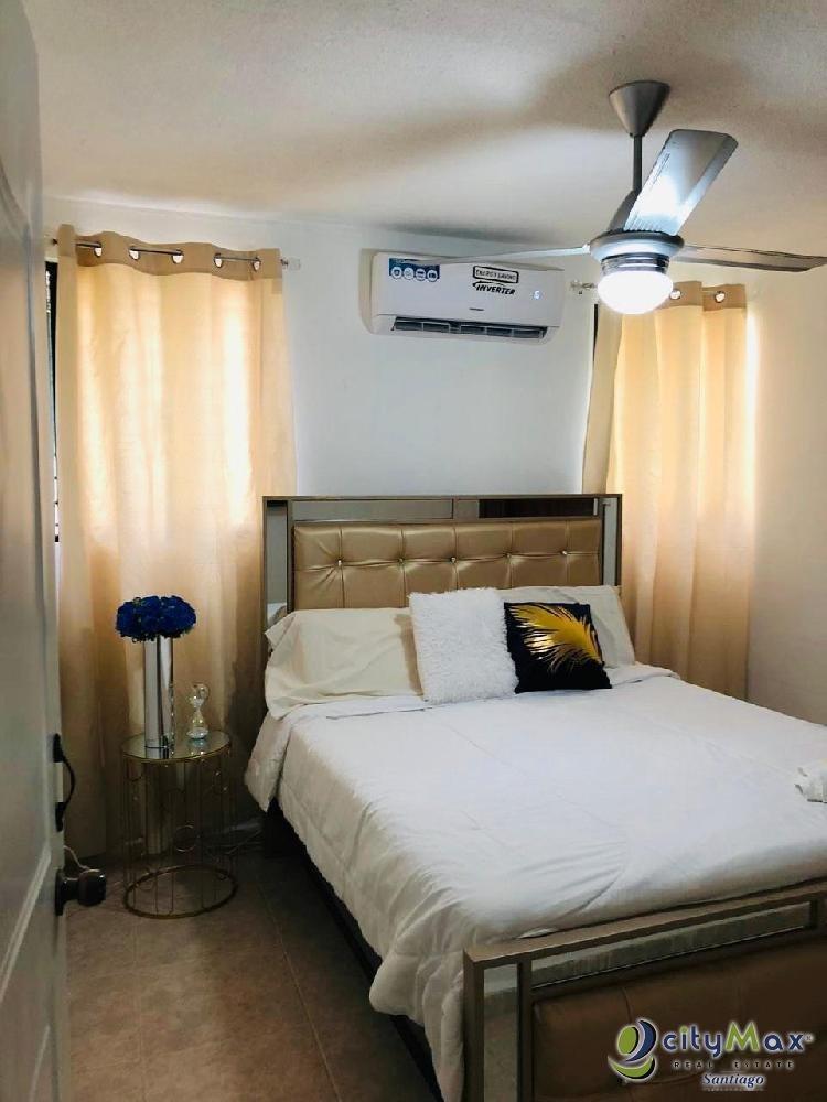 Apartamento para alquiler amueblado en Santiago, RD.