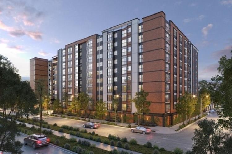 Apartamento en venta en Zona 9 con Jardín en Planos