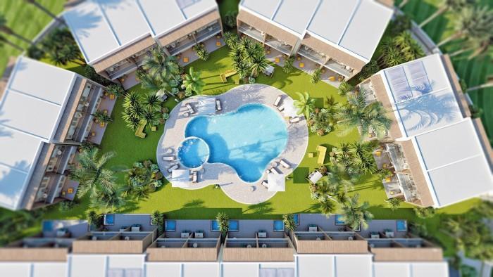 Villa de 2 Habitaciones en Venta en Playa Nueva Romana
