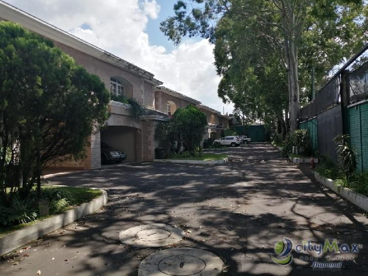 Renta de Casa en Condominio zona 14 La Villa