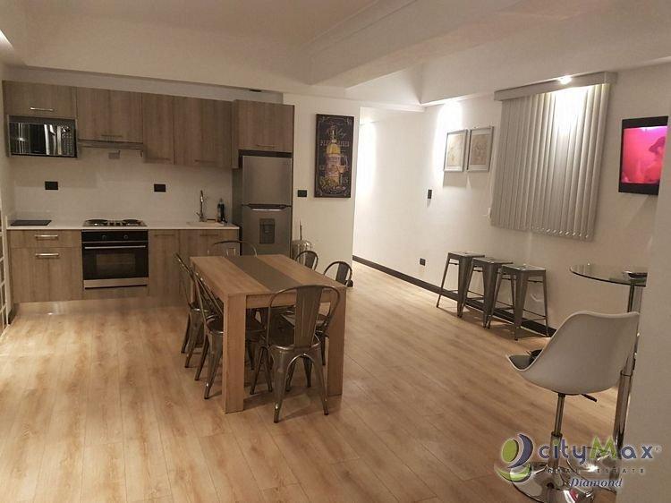 Apartamento amueblado en renta y venta en zona 1