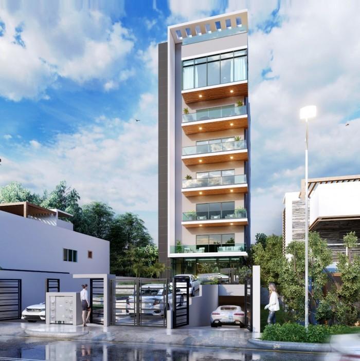 Vendo penthouse de lujo en torre  en Ensanche Ozama