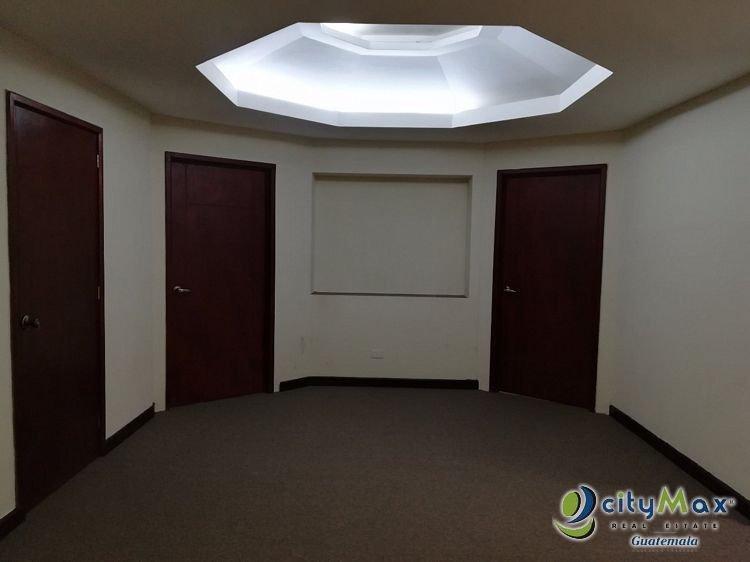 Oficina en alquiles en Edificio ejecutivo en zona 14