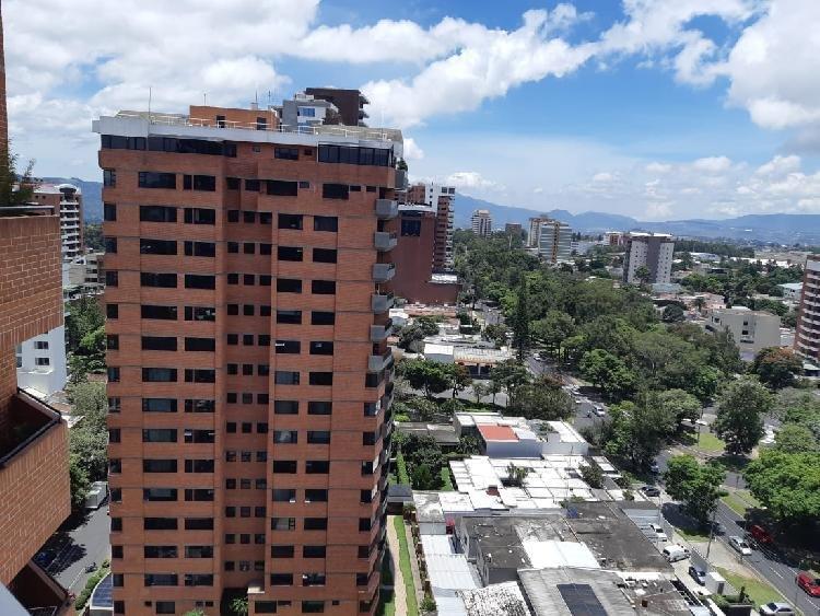 Apartamento de dos niveles en zona 14