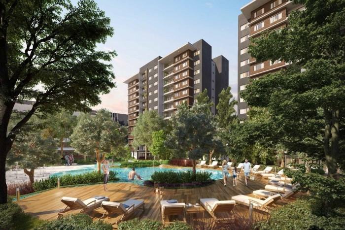 Apartamentos modernos en venta, zona 14