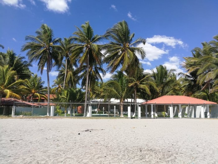 Rancho Familiar de playa en Cangrejera, La Libertad