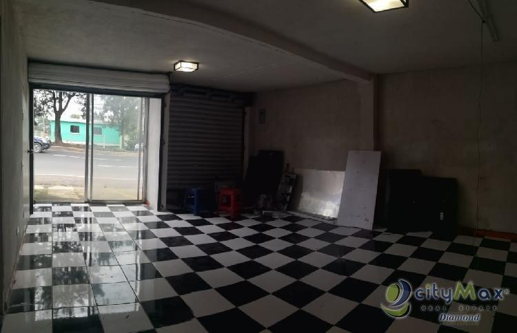 Local en renta 35 mt2 en Carretera al Salvador km. 16