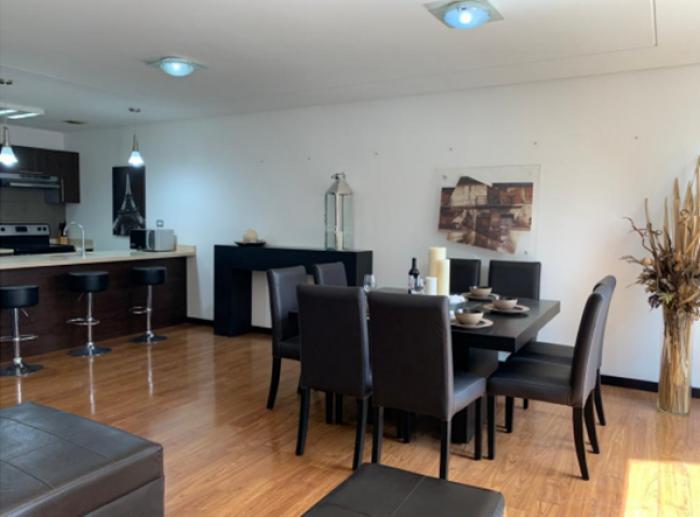 Rento apartamento amoblado en exclusivo edificio Z.14
