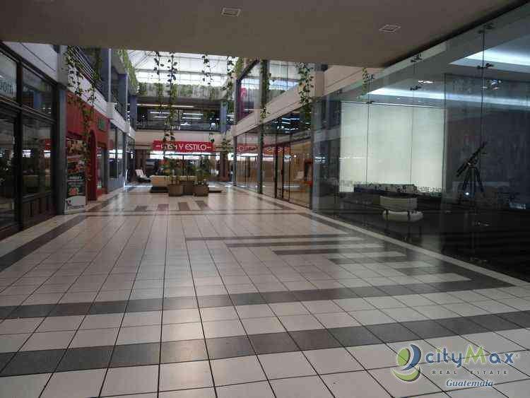 Renta local CityMax en plaza comercial en zona 10