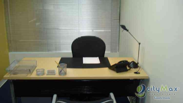 Alquilo oficina amueblada en zona 14