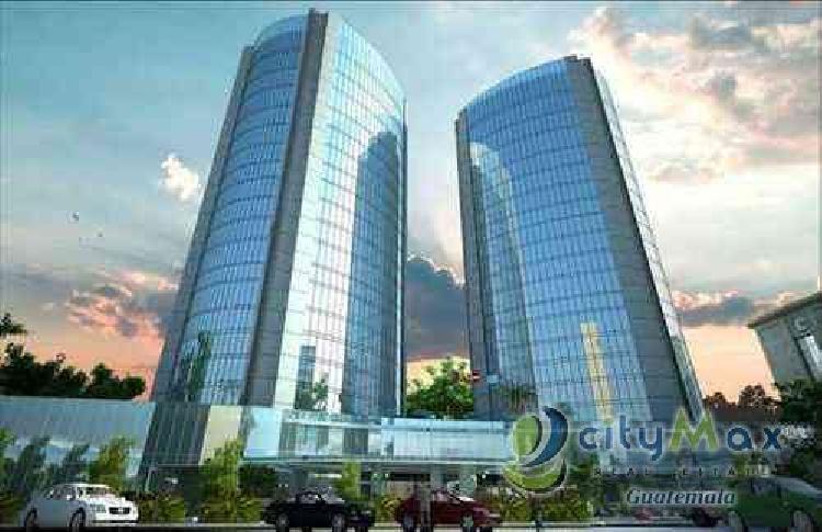 Oficina en venta y renta en zona 10 edificio moderno