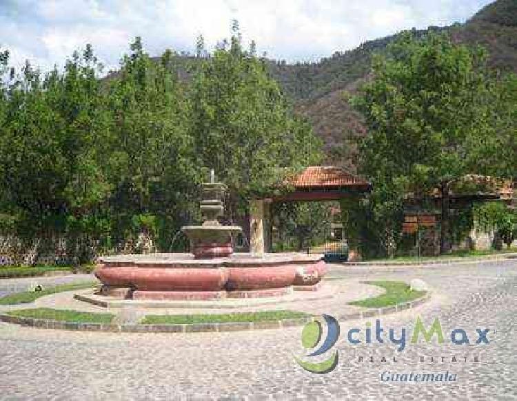 Vendo hermoso terreno cerca de la Antigua Guatemala