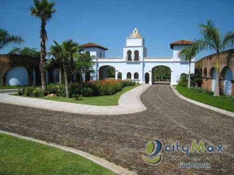 Vendo terreno en Pacific Gardens Escuintla